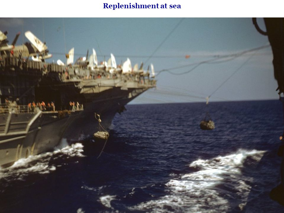 Replenishment at sea