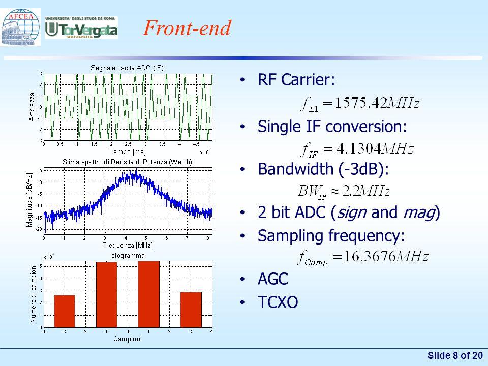 Slide 19 of 20 SSR Scheme Satellite or System on Chip (SoC).
