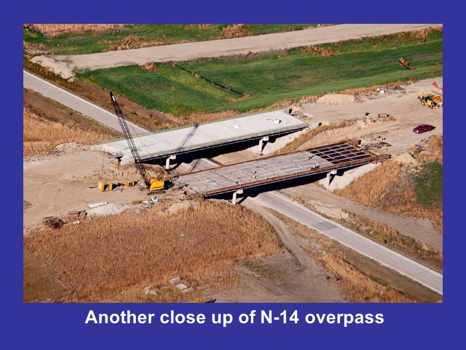 Another close up of N-14 overpass