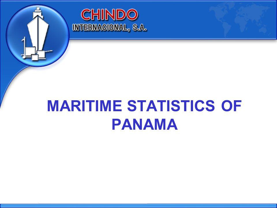 MARITIME STATISTICS OF PANAMA