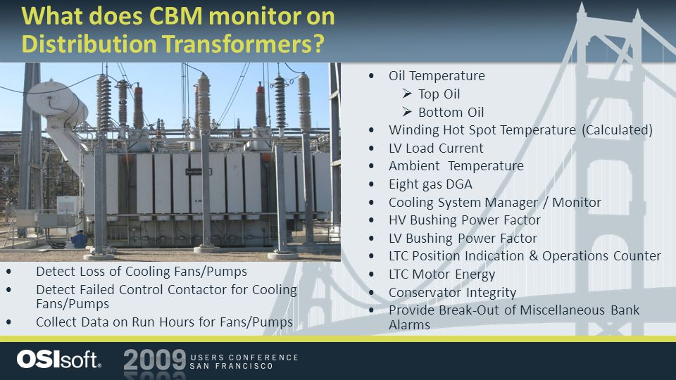 Oil Temperature  Top Oil  Bottom Oil Winding Hot Spot Temperature (Calculated) LV Load Current Ambient Temperature Eight gas DGA Cooling System Mana