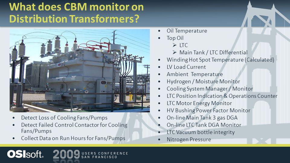 Oil Temperature Top Oil  LTC  Main Tank / LTC Differential Winding Hot Spot Temperature (Calculated) LV Load Current Ambient Temperature Hydrogen /