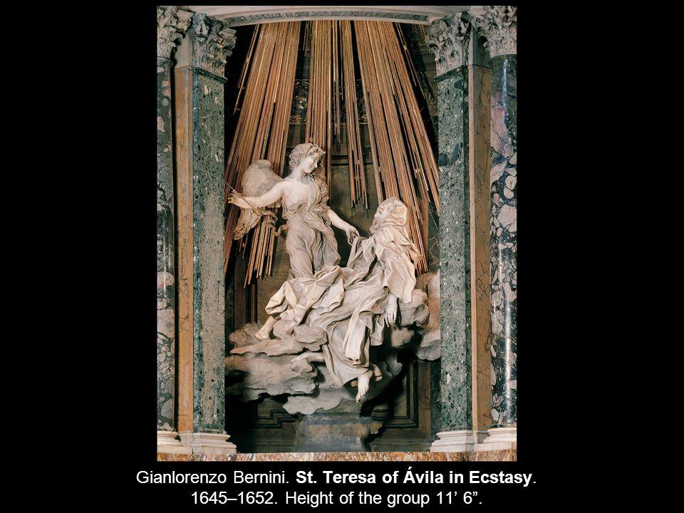 Francesco Borromini.View Into the Dome of the Church of San Carlo alle Quattro Fontane, Rome.