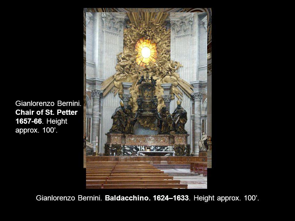 Gianlorenzo Bernini. David. 1623. Height 5' 7 . 1446-60 1501-1504