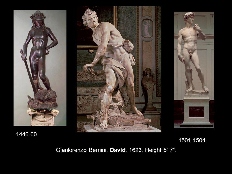 Caravaggio. The Conversion of St. Paul. c. 1601. 7' 6 × 5' 8 . Tenebrism