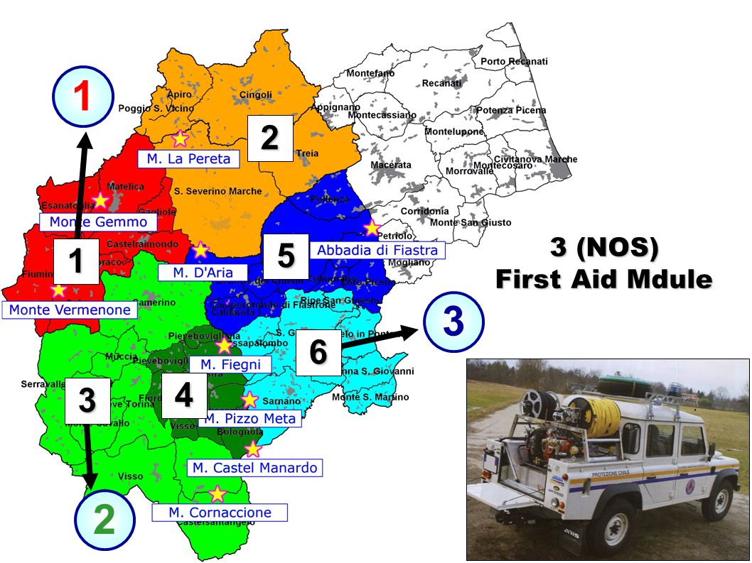 3 1 2 3 1 2 4 6 5 3 (NOS) First Aid Mdule