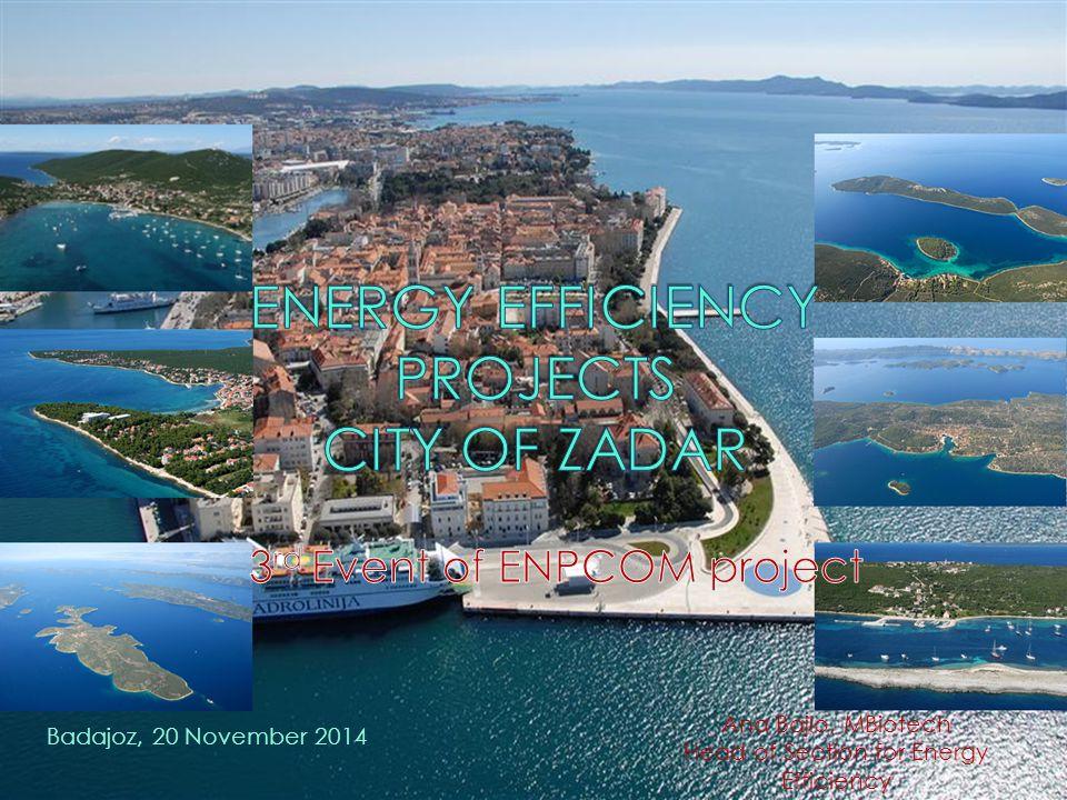 Badajoz, 20 November 2014 Ana Bajlo, MBiotech Head of Section for Energy Efficiency