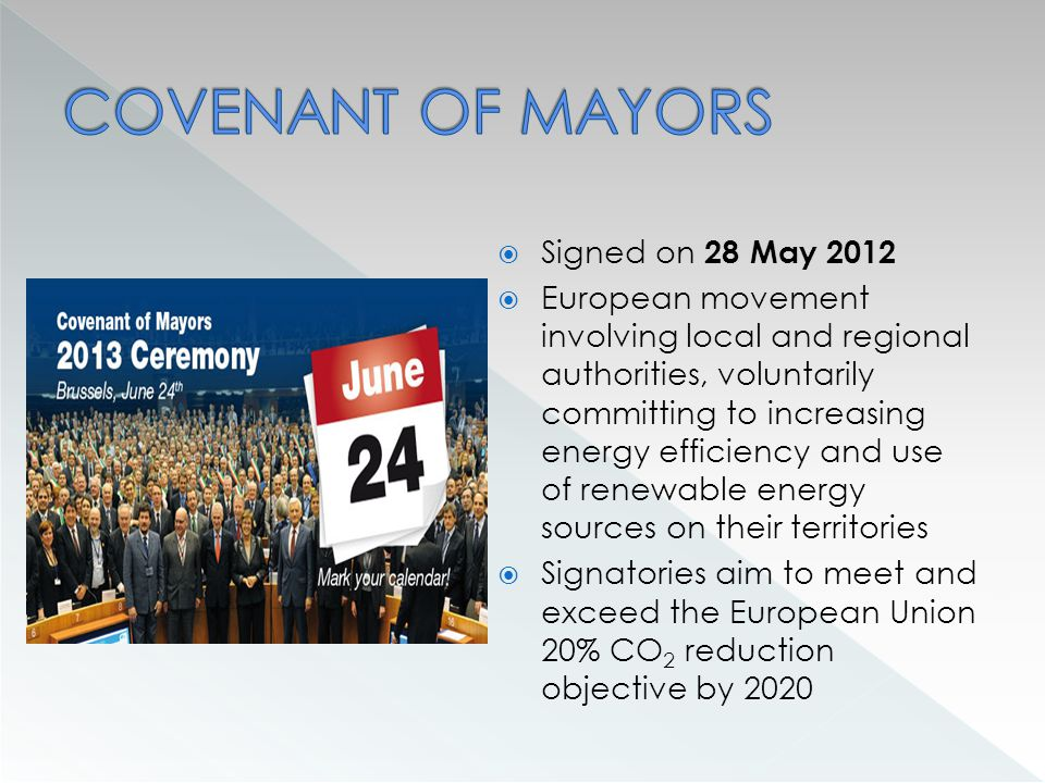 Association of Energy Cities Member from March 2014 European Association of local authorities in energy transition Represents more than 1,000 towns and cities in 30 countries Energy Cities is a credible and trusted advocate of local authorities in the fields of energy efficiency, renewables, climate mitigation, regional policies and financing Energy Cities is dedicated to: Strengthen the role and skills of local authorities Represent cities' interests and influence national and EU policies Develop and promote our members' initiatives