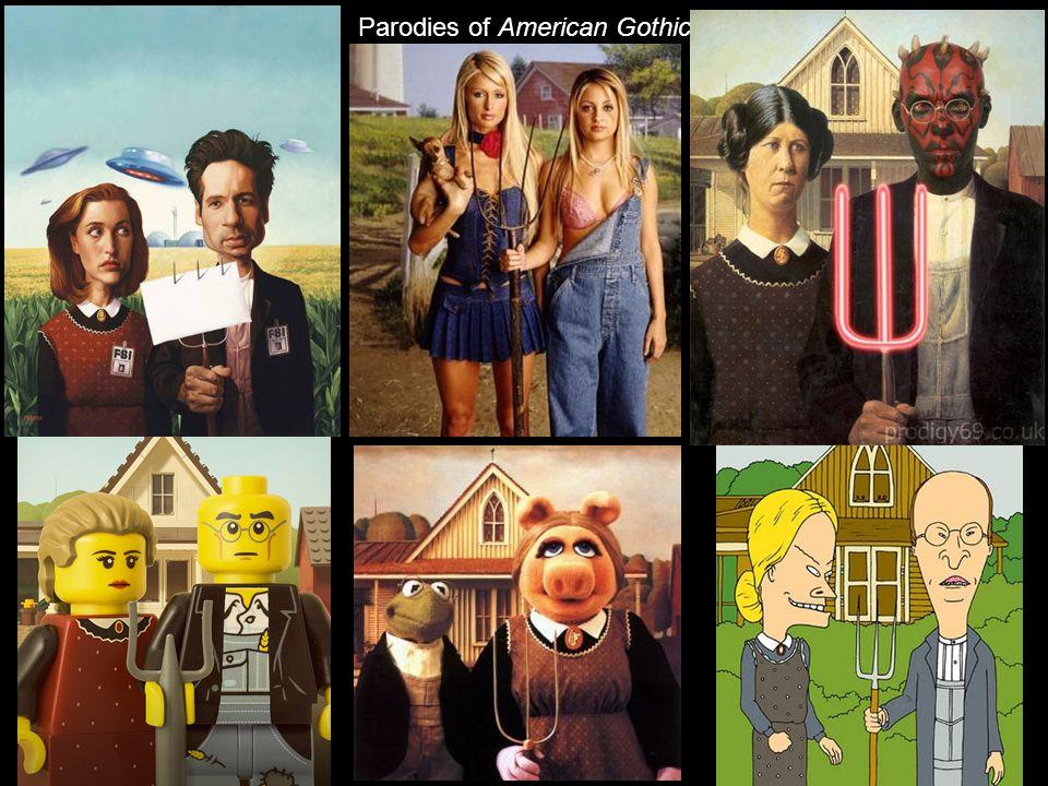 Parodies of American Gothic