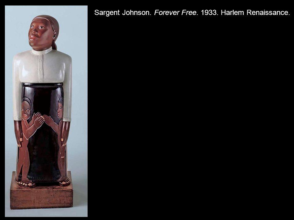 Sargent Johnson. Forever Free. 1933. Harlem Renaissance.