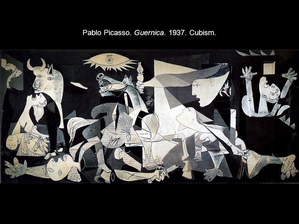 Pablo Picasso. Guernica. 1937. Cubism.