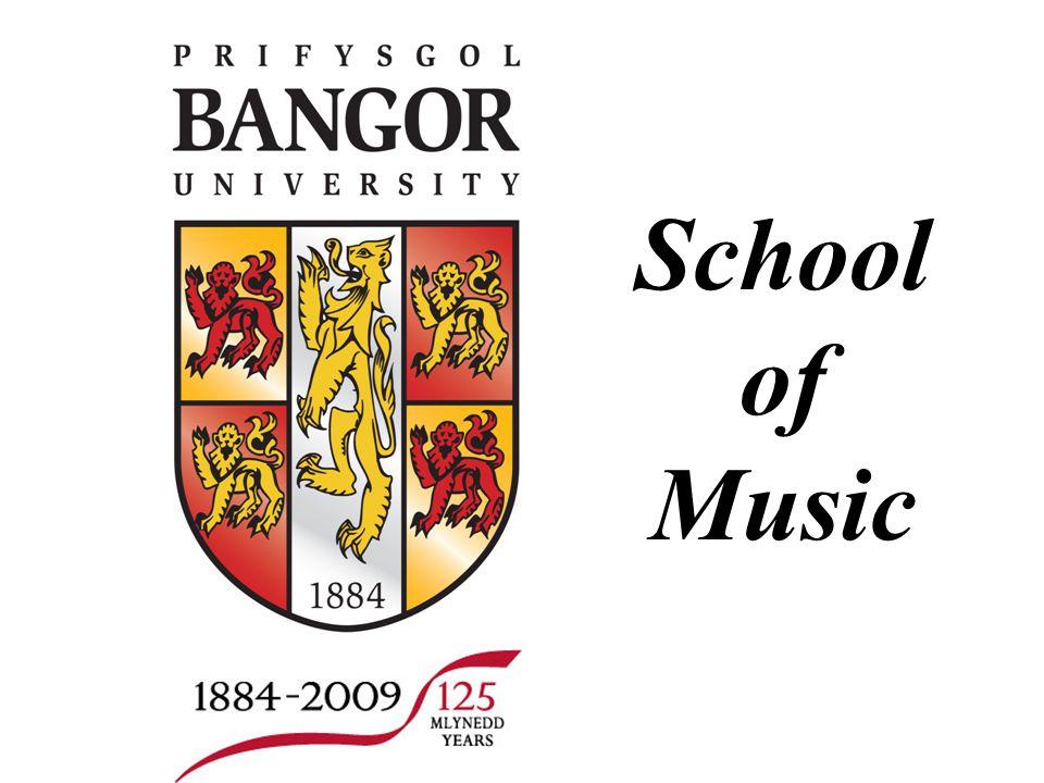 Slide no. 1 School of Music Slide no. 1 School of Music