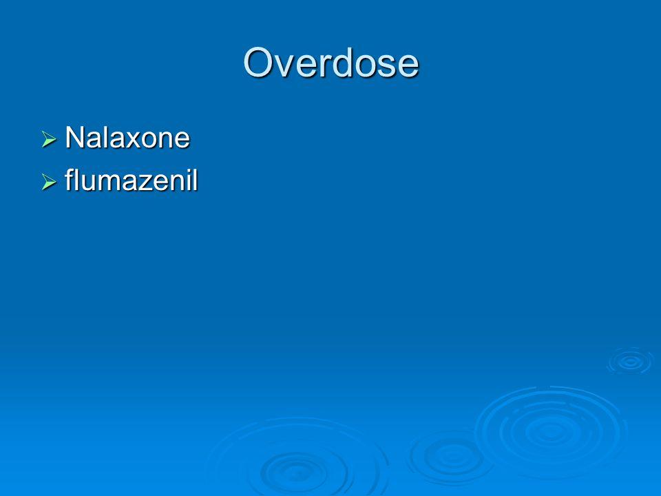 Overdose  Nalaxone  flumazenil