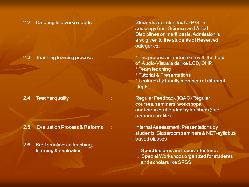 III.Research, Consultancy & Extension 3.1 Promotion of Research:Courses like M.Phil & Ph.D.