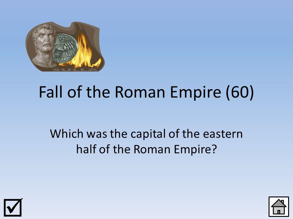 Fall of the Roman Empire (40) JOKER 