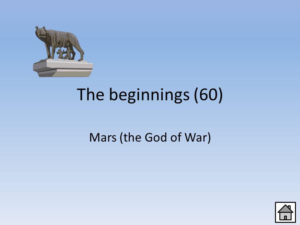 The beginnings (40) seven