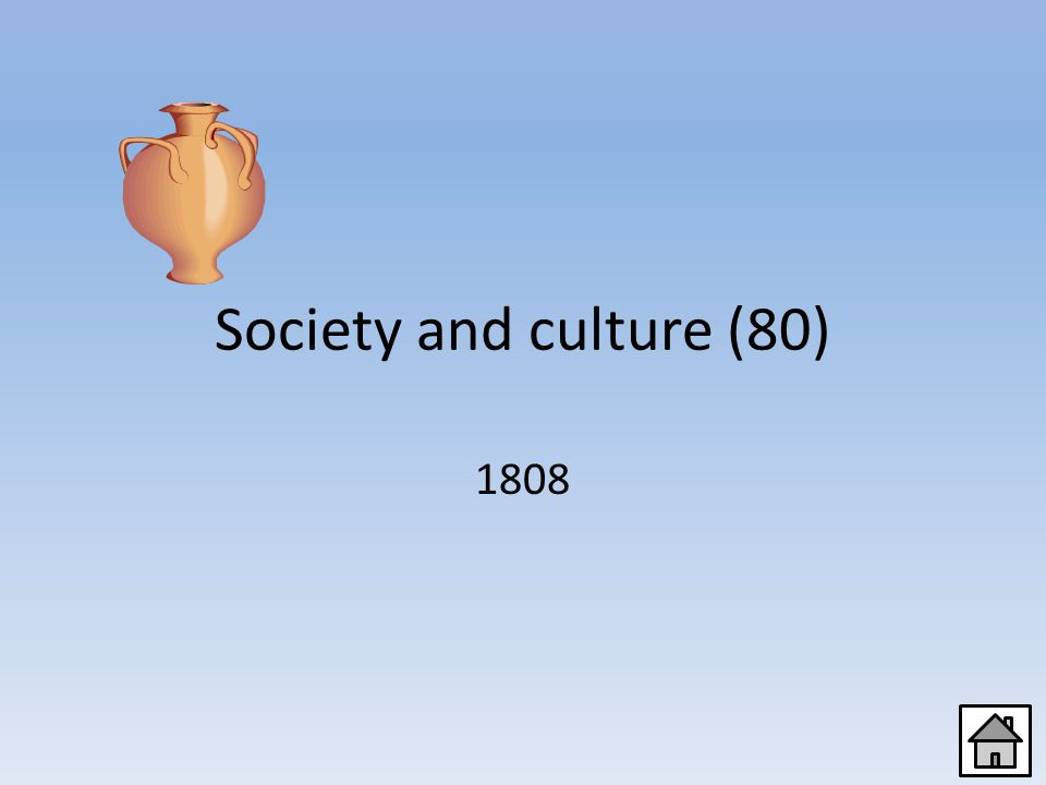 Society and culture (60) Italian, French, Portuguese, Spanish, Romanian