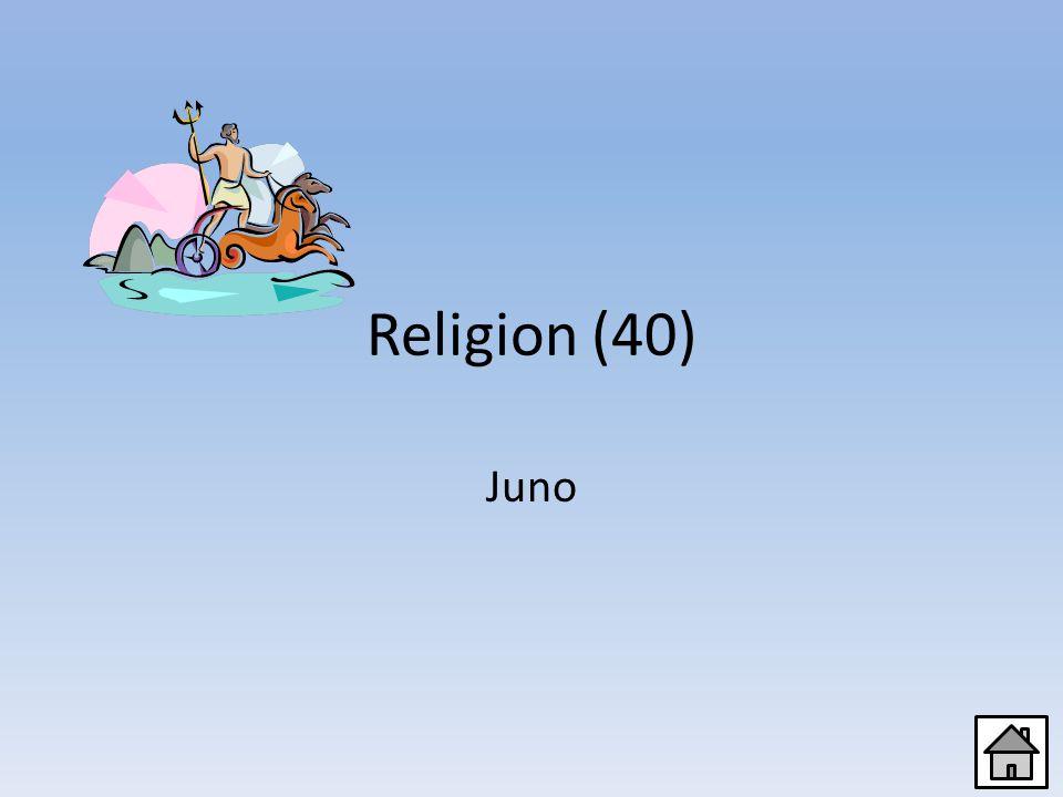 Religion (20) Jupiter