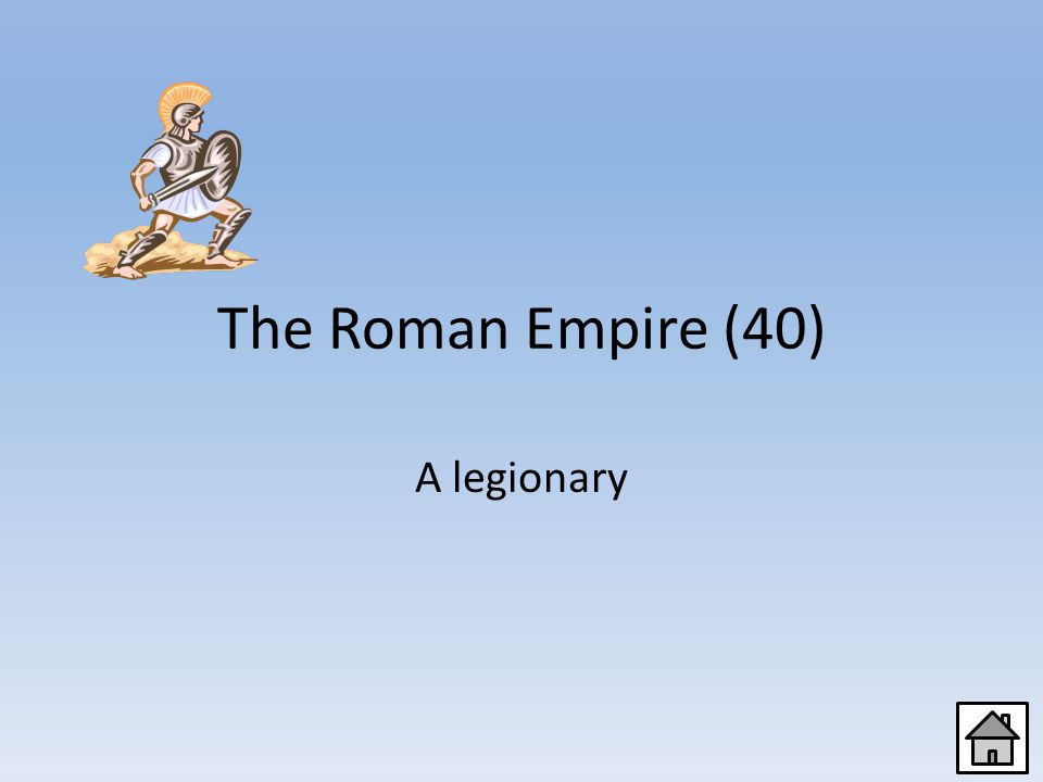 The Roman Empire (20) A helmet