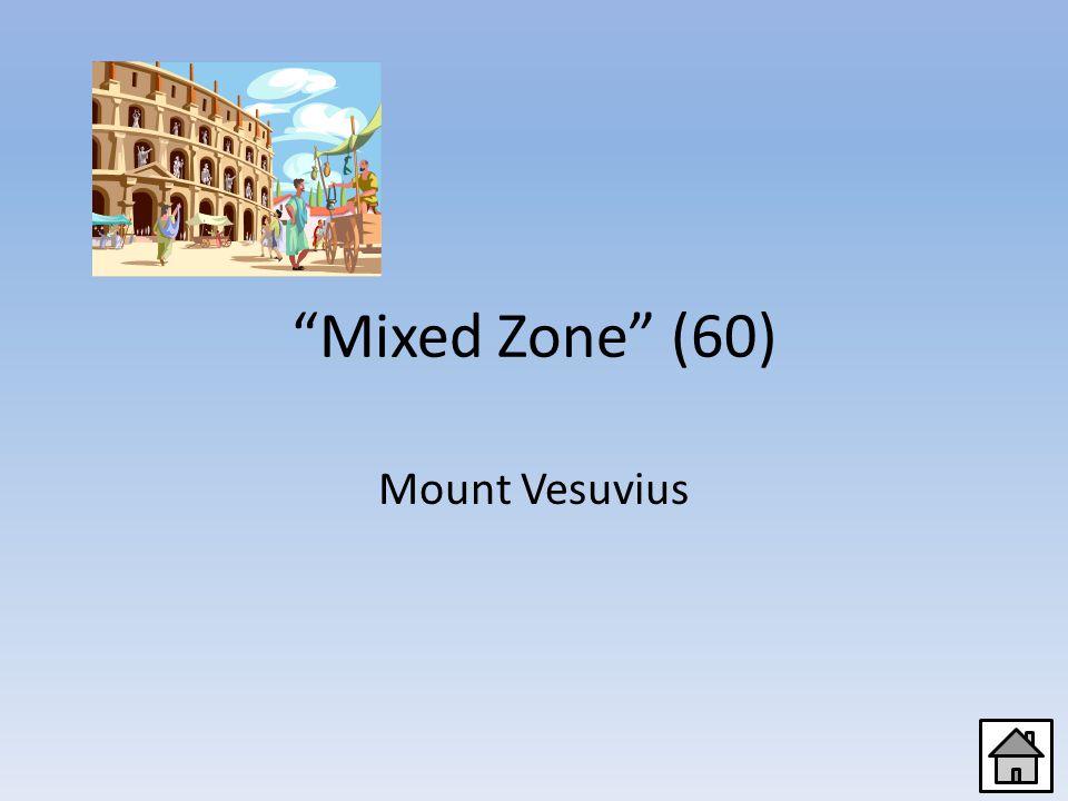 Mixed Zone (40) Caesar