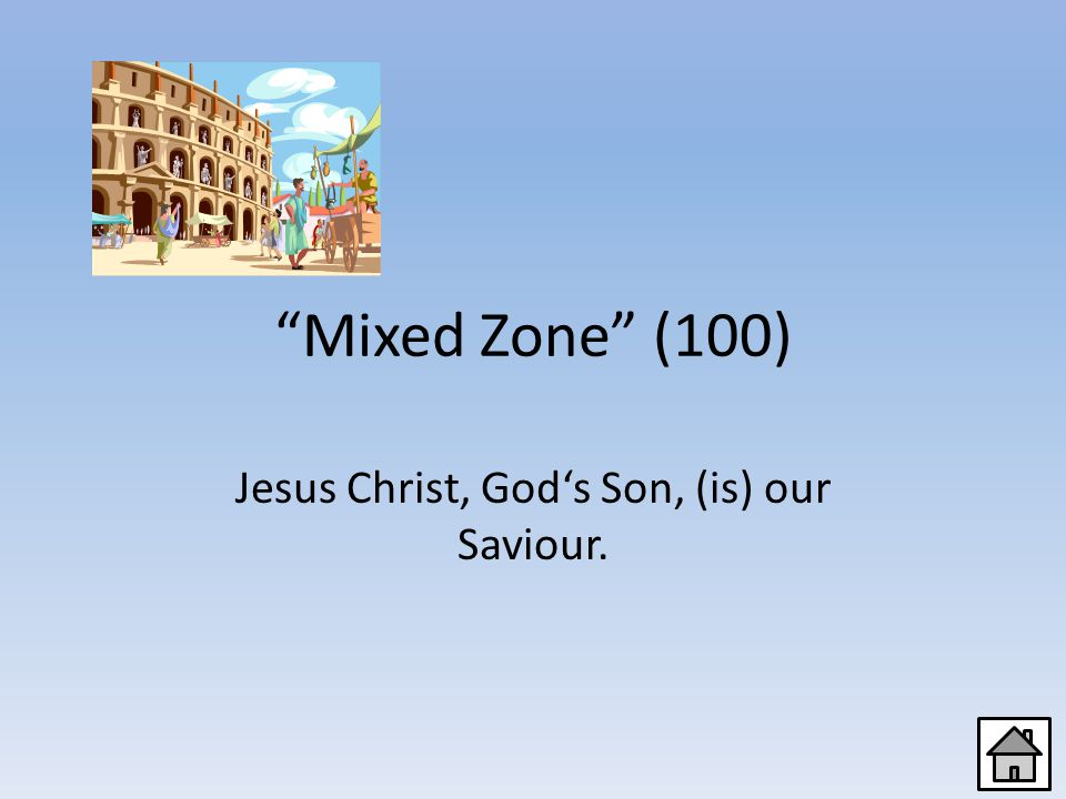 Mixed Zone (80) A secret symbol for the Christians
