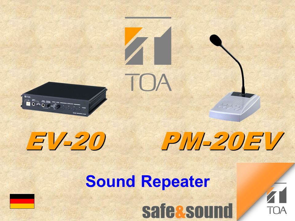 EV-20PM-20EV Sound Repeater bc