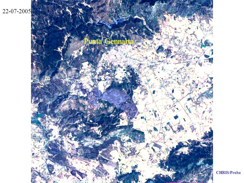 Punta Gennarta CHRIS/Proba 22-07-2005