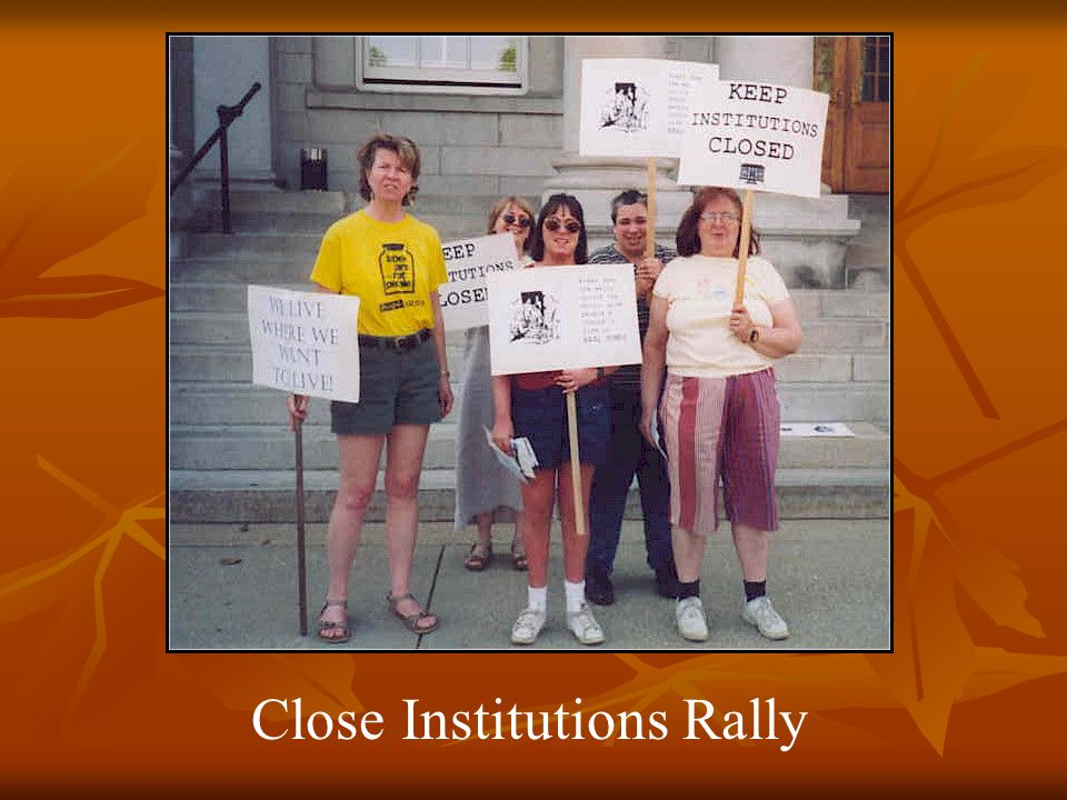 Close Institutions Rally