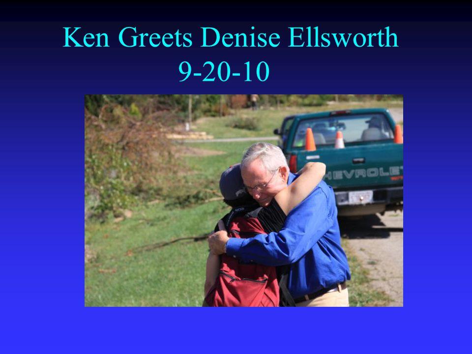 Ken Greets Denise Ellsworth 9-20-10