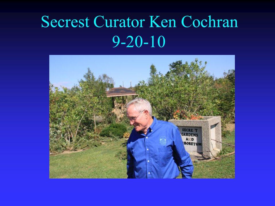 Secrest Curator Ken Cochran 9-20-10