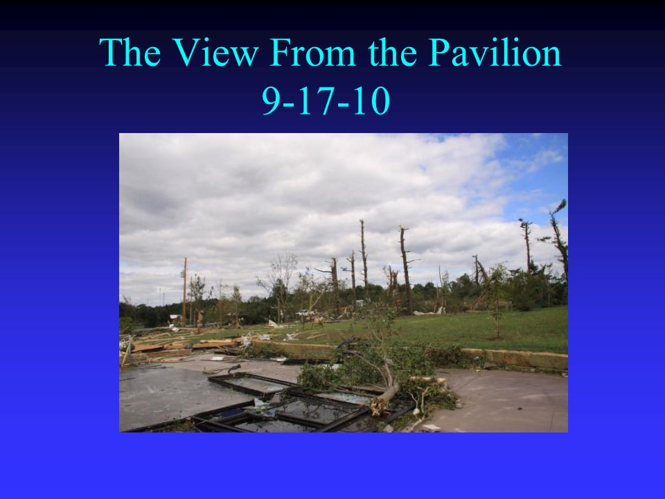 The View From the Pavilion 9-17-10
