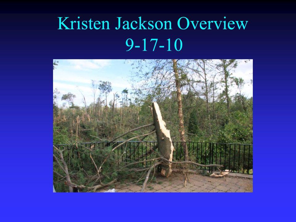 Kristen Jackson Overview 9-17-10