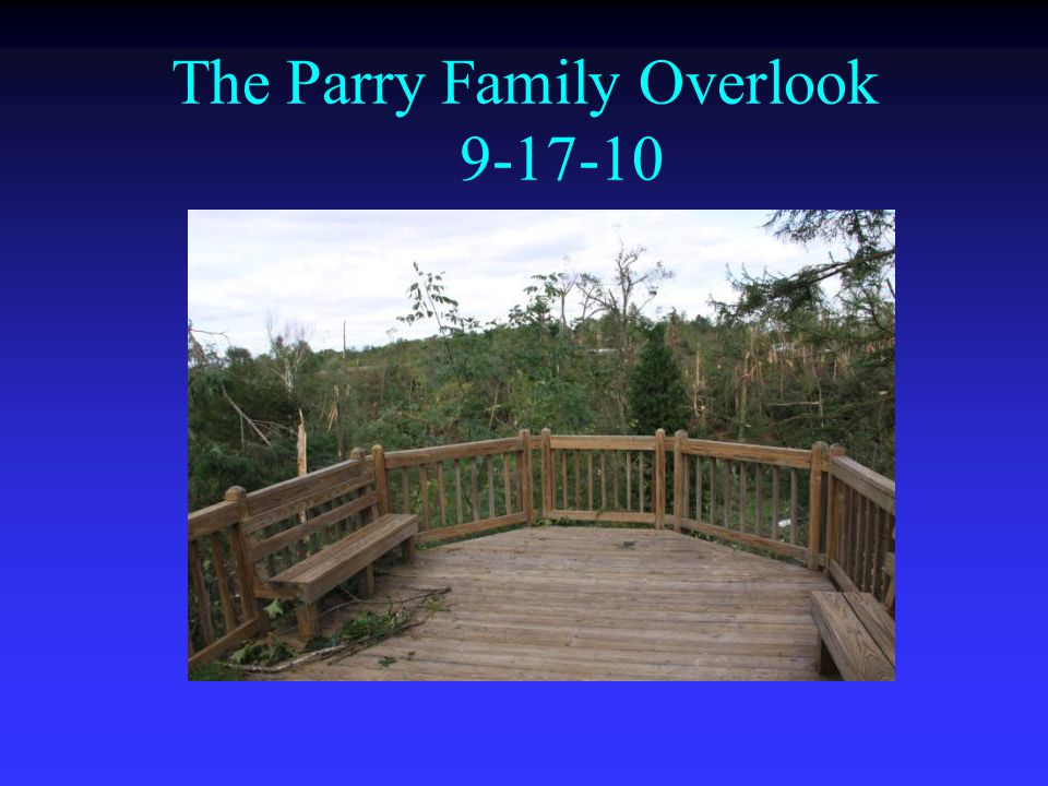 The Parry Family Overlook 9-17-10