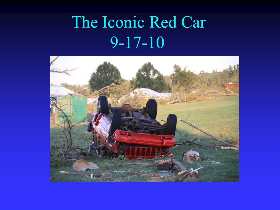 The Iconic Red Car 9-17-10
