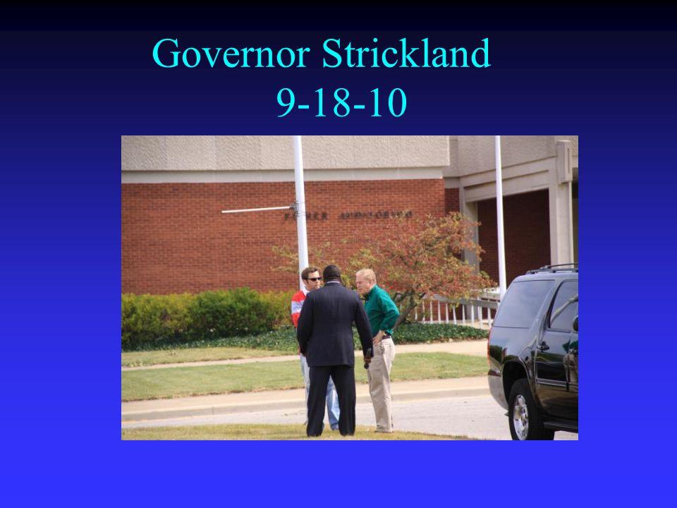 Governor Strickland 9-18-10