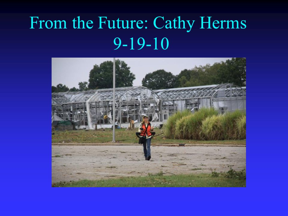 From the Future: Cathy Herms 9-19-10