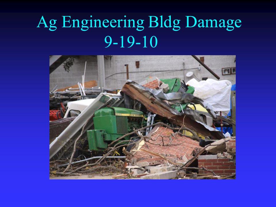 Ag Engineering Bldg Damage 9-19-10
