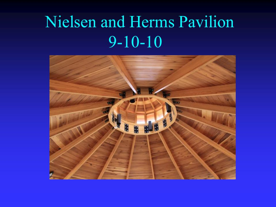 Nielsen and Herms Pavilion 9-10-10