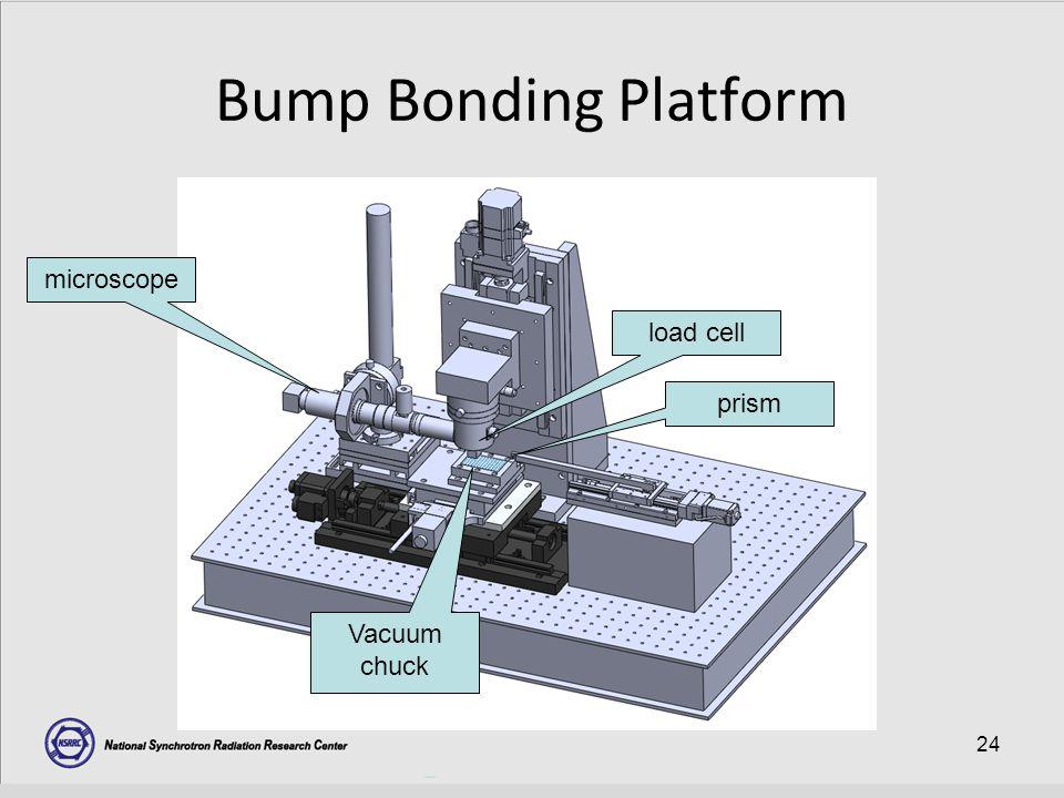 24 Bump Bonding Platform load cell prism microscope Vacuum chuck