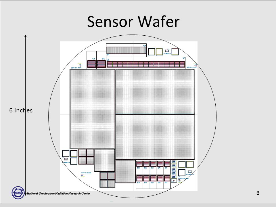 8 Sensor Wafer 6 inches