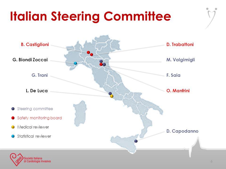 Italian Steering Committee D. Trabattoni M. Valgimigli G.