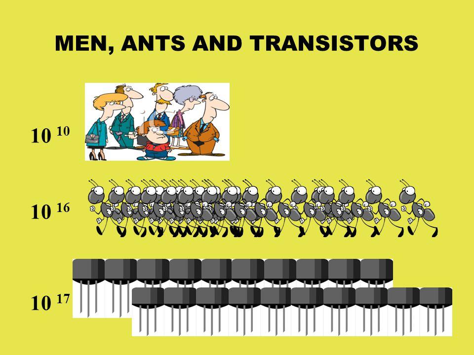 MEN, ANTS AND TRANSISTORS 10 10 16 10 17
