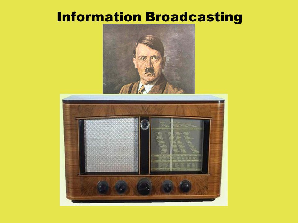 Information Broadcasting