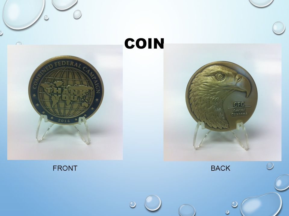 COIN FRONT BACK