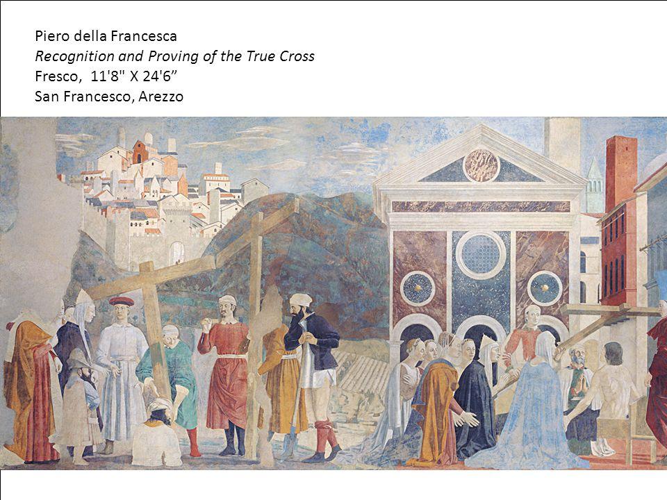 Piero della Francesca Recognition and Proving of the True Cross Fresco, 11'8