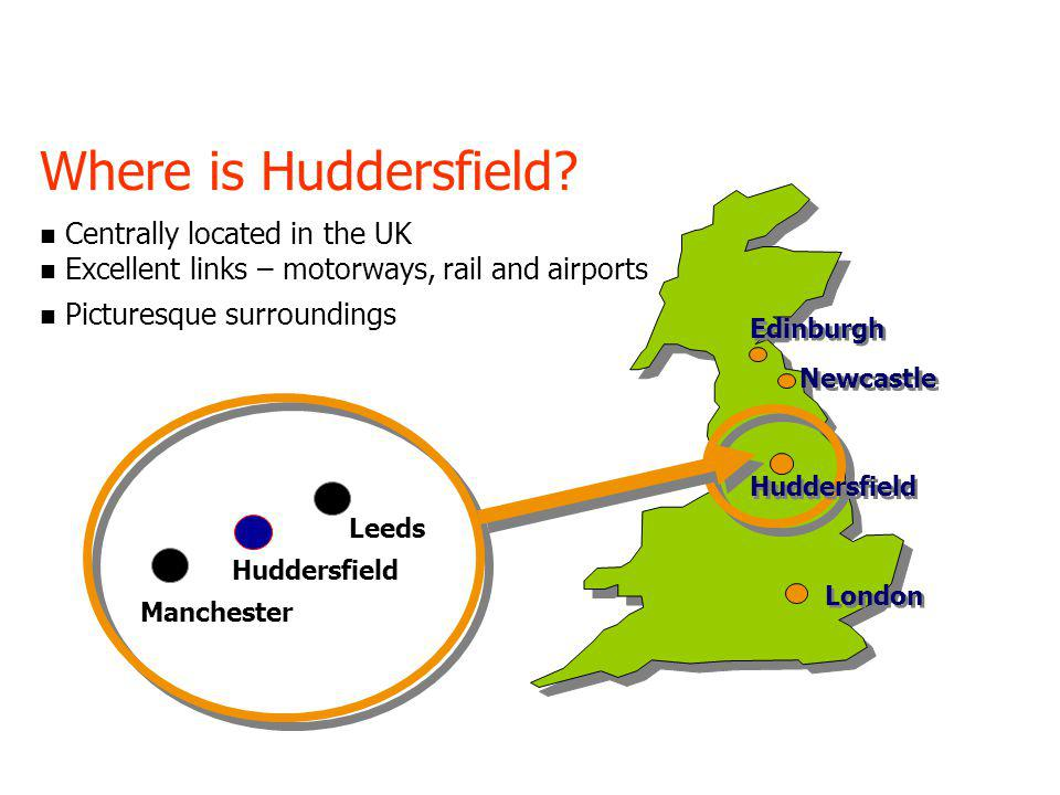 Huddersfield ranked 3rd in the UK in satisfaction survey It's official.