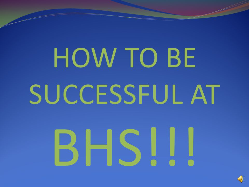 MAKE THE MOST OF BHS!!!!