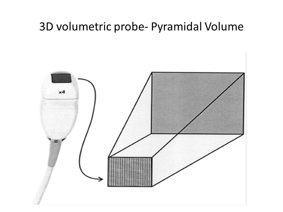 3D volumetric probe- Pyramidal Volume