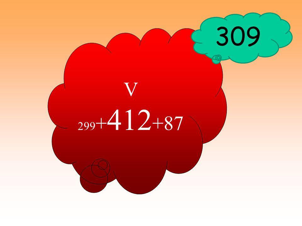 V 29 9 V 87 V 412 309