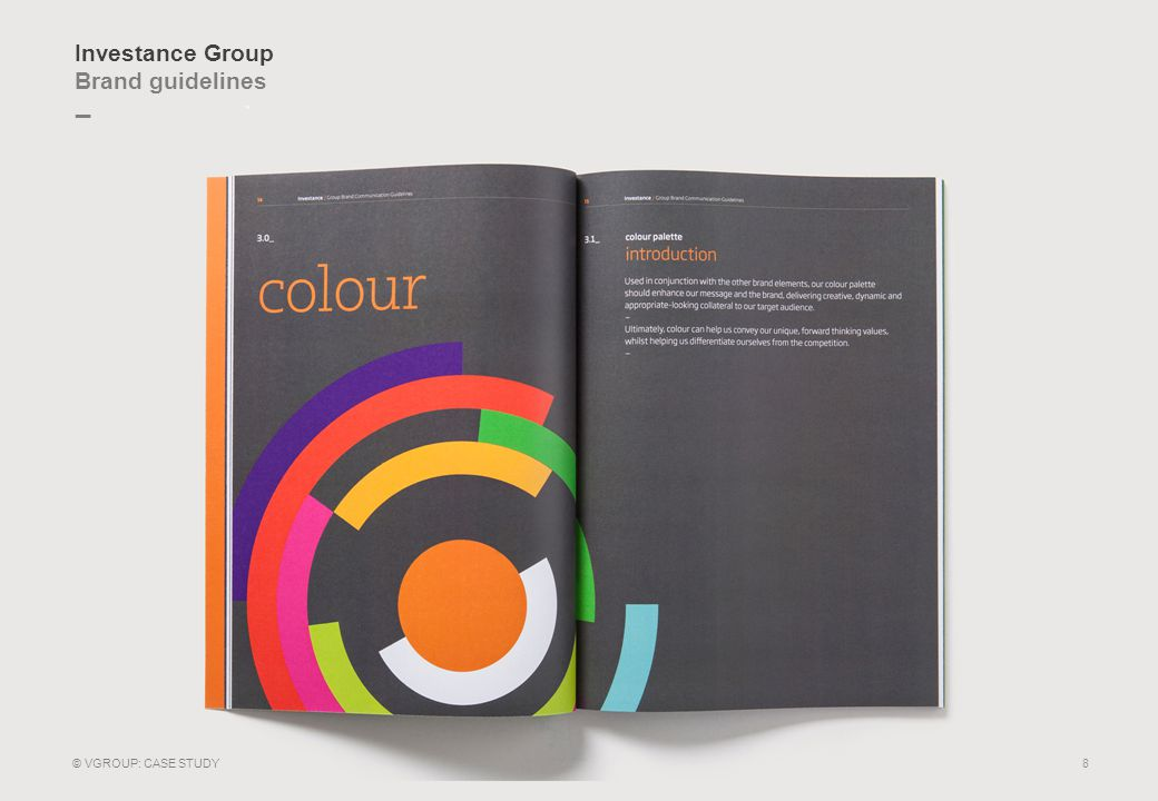 _ Investance Group Employee launch booklet 9 © VGROUP: CASE STUDY